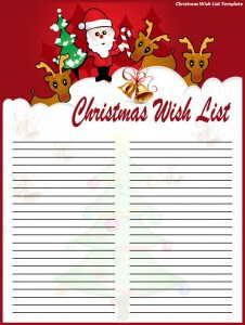 Elegant Customize This Free Christmas Wish List Template To Produce Your Own Christmas  List In Fewer Moments. Christmas Season Is Always Best Time Of The Year To  ... Idea Christmas List Format