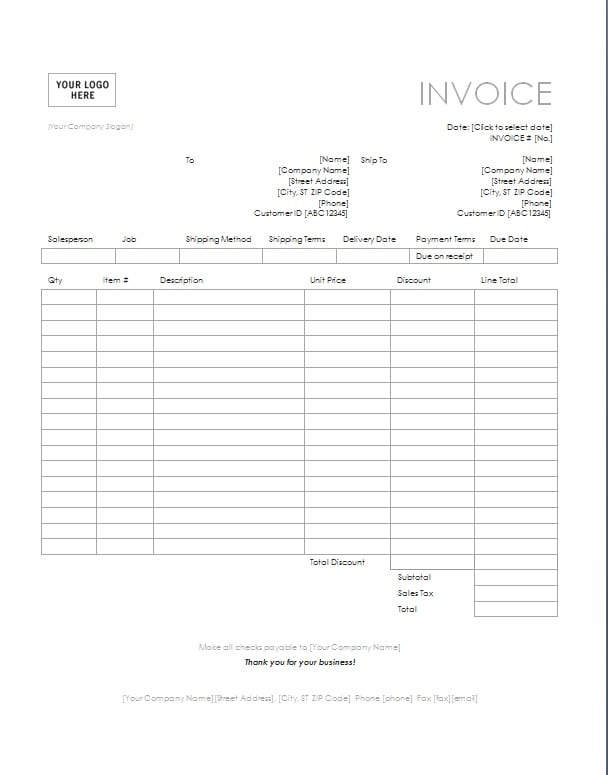 consulting invoice template image. Black Bedroom Furniture Sets. Home Design Ideas
