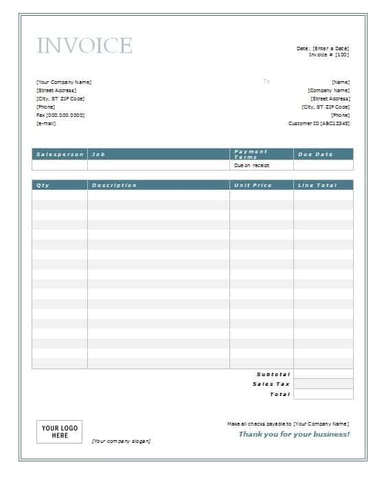 accounting services invoice template .