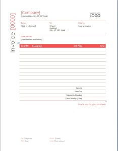 medical billing invoice template free .