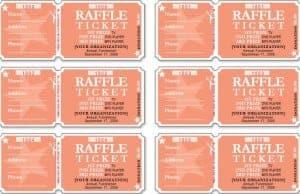 raffle ticket templates 2