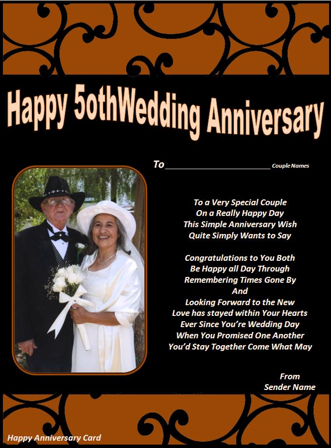 Happy Anniversary Cards Template Sample Templates