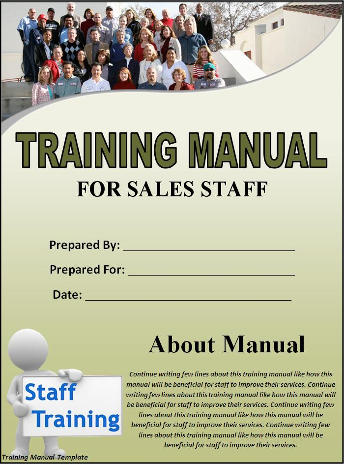 Employee Training Manual Template Word from www.samplestemplates.org