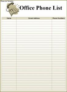 Phone-List-Template-219x300