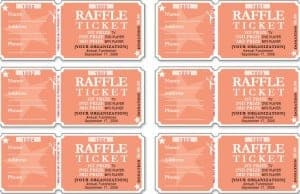 raffle ticket templates 2